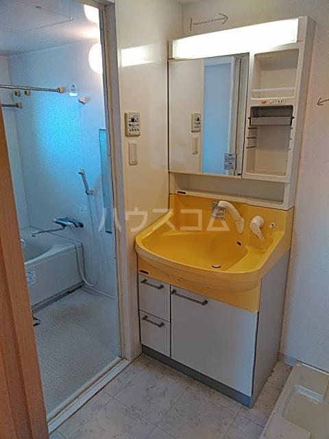 リンボックF 303号室の洗面所