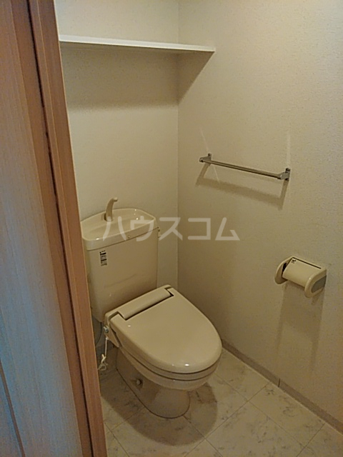 リンボックF 303号室のトイレ