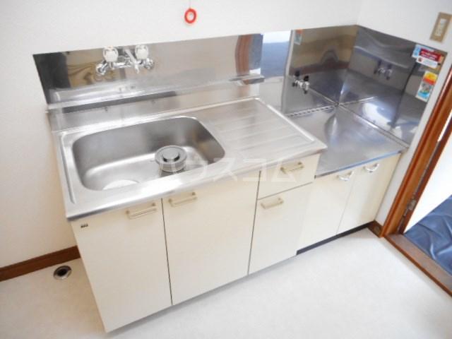 グリーンベルⅠ 22号室のキッチン