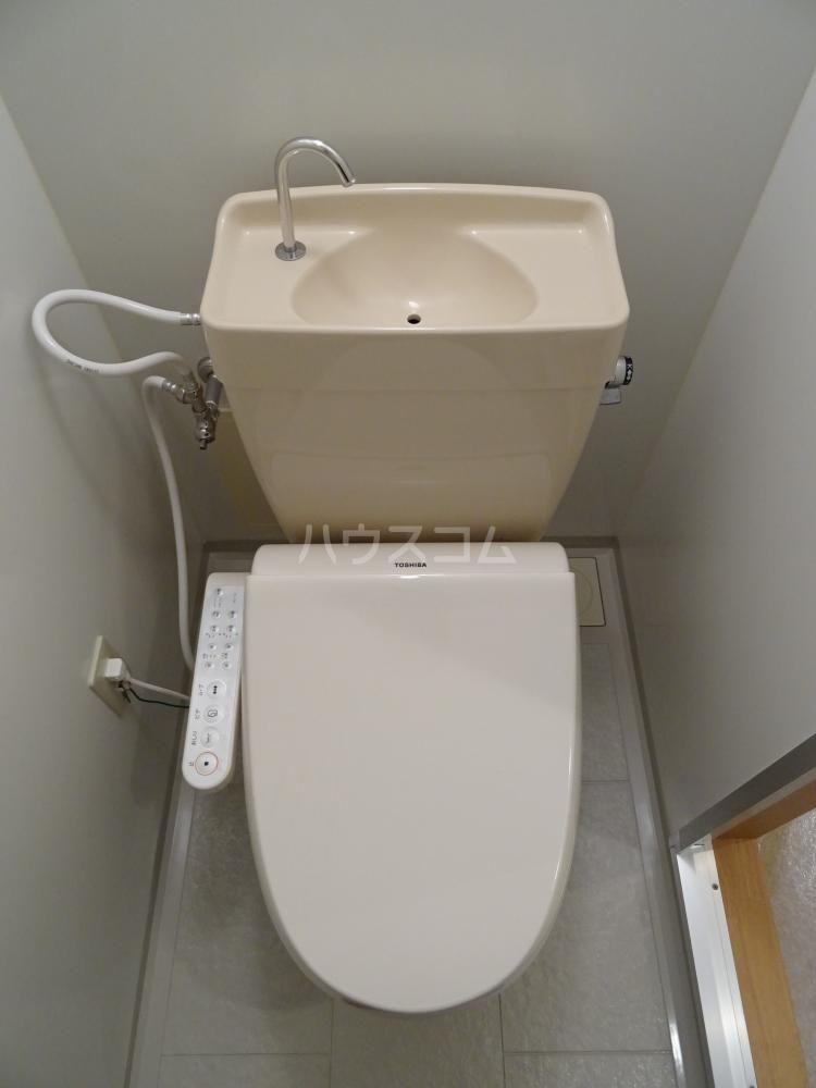 H.earth 303号室のトイレ