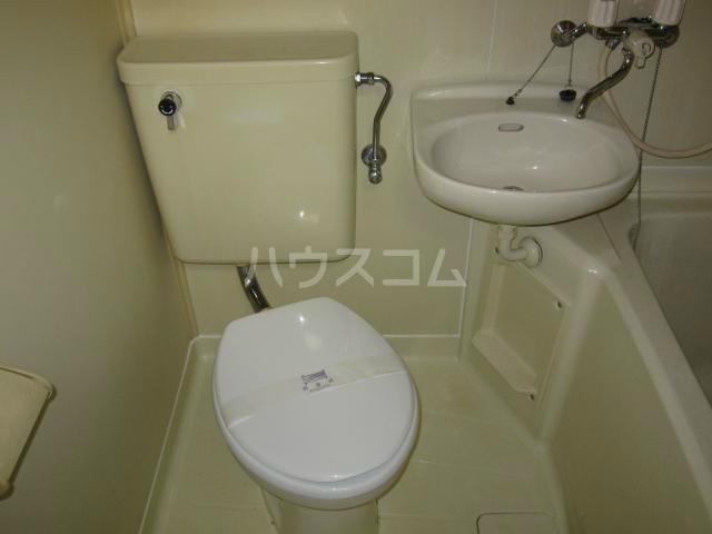 コーポミナミ 201号室のトイレ