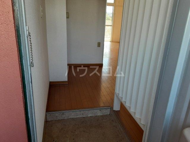 江口マンション四女子 402号室のバルコニー