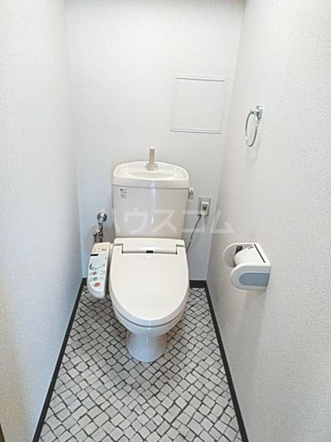 Bo Pierre K号室のトイレ
