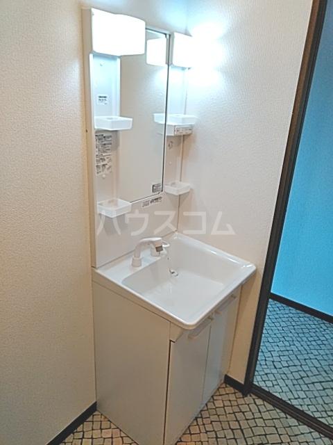 Bo Pierre K号室の洗面所