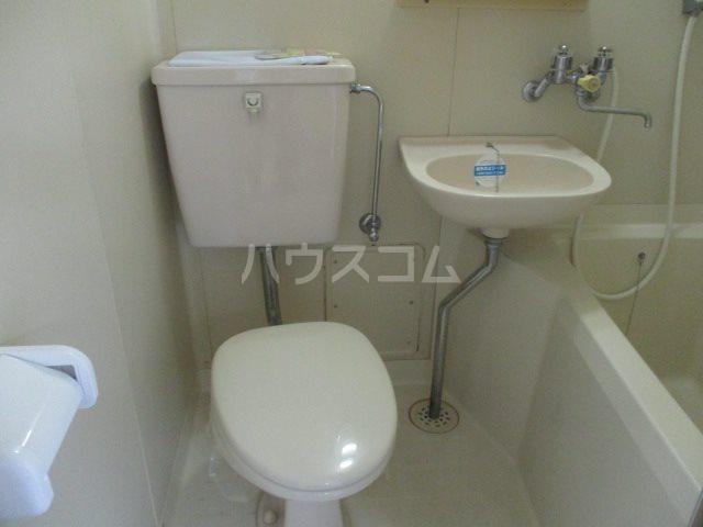 サンハイツタカオカⅠ 205号室のトイレ