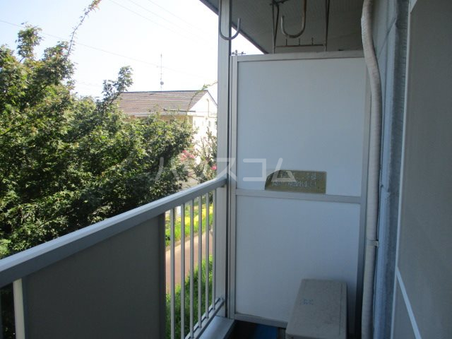 サンハイツタカオカⅠ 205号室のバルコニー