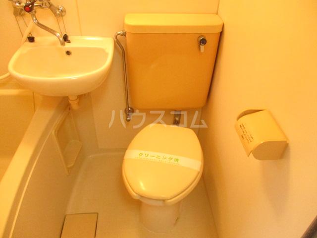 ビレッジ仁戸名 103号室のトイレ