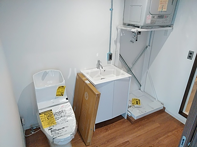 balance GLBの洗面所