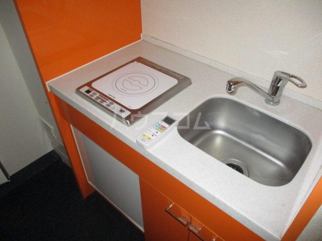 コンド千葉WEST 304号室のキッチン