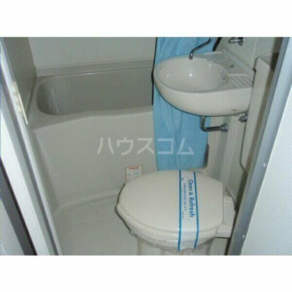 ガーデンハイツ八田 203号室のトイレ