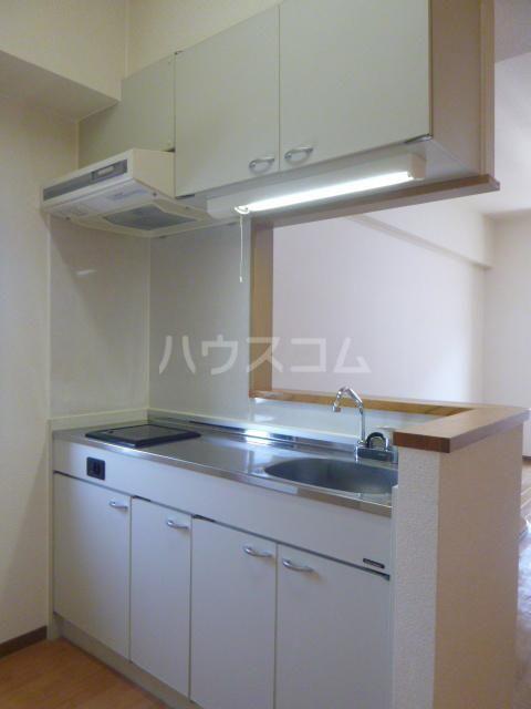 グランメール21 4-A号室のキッチン