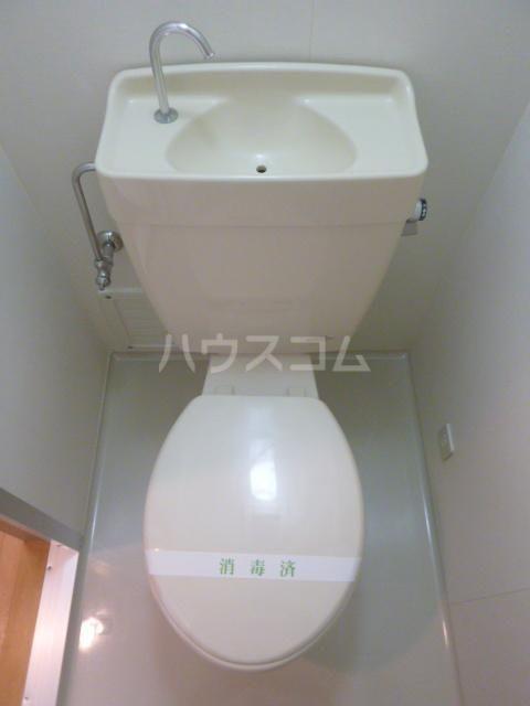 グランメール21 4-A号室のトイレ