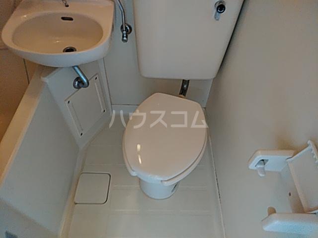 プラザ検見川 A棟 103号室のトイレ