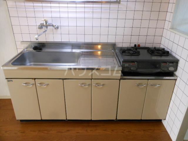 ヒルトップ・ヴィラ 103号室のキッチン