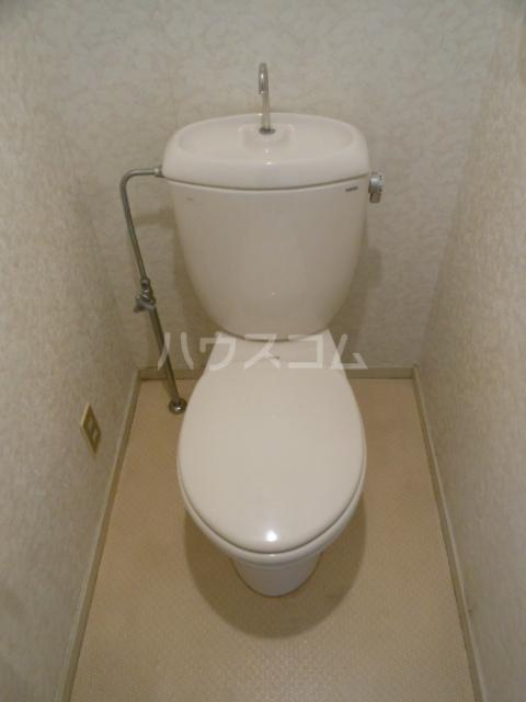 ヒルトップ・ヴィラ 103号室のトイレ