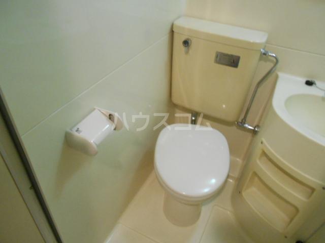 菱田ビル 403号室のトイレ