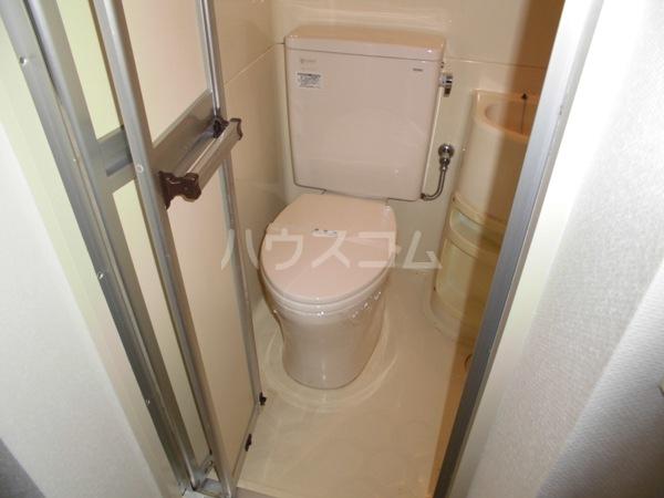 露橋ロイヤルハイツ I 2L号室のトイレ