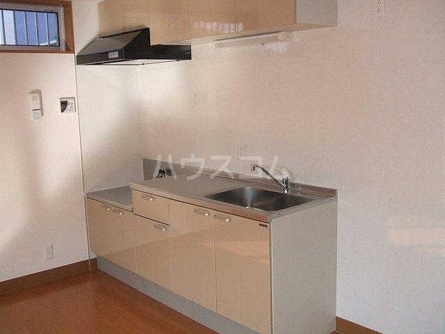 M'sパティオ 103号室のキッチン