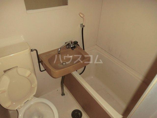神作シティー 1C号室の洗面所