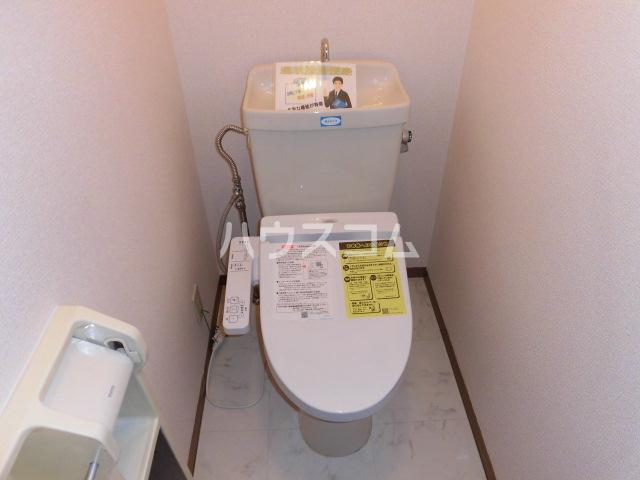 ハイムK.M 102号室のトイレ
