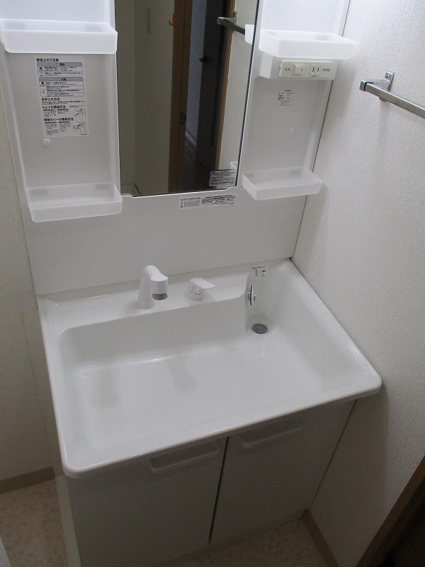 グランドパーク 406号室の洗面所
