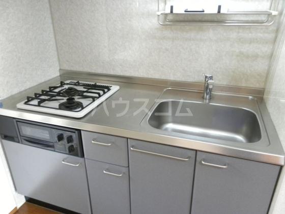 ひまわり 202号室のキッチン