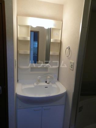 ひまわり 202号室の洗面所