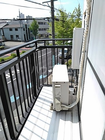 齋藤アパート 1号室のバルコニー