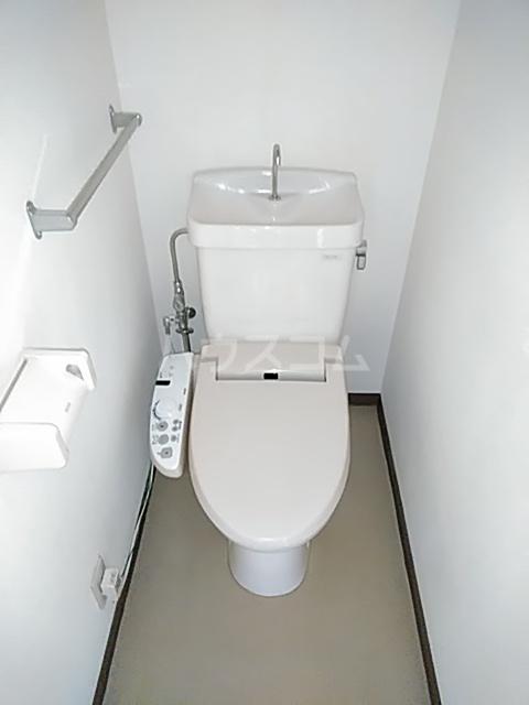 齋藤アパート 1号室のトイレ