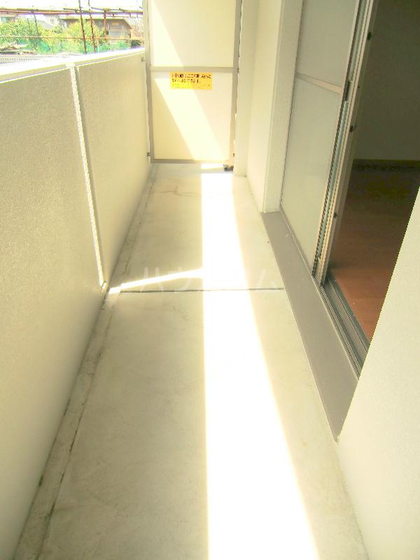 パディー江西 201号室のバルコニー