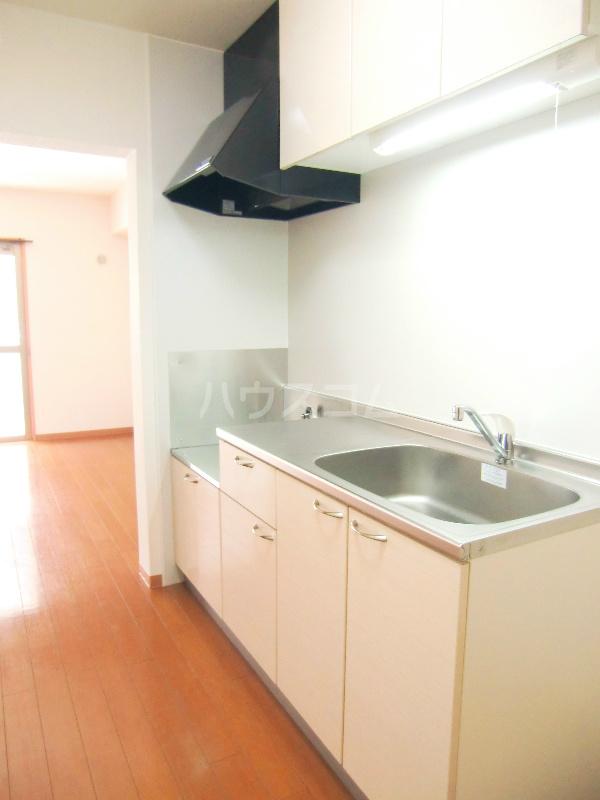 パディー江西 201号室のキッチン
