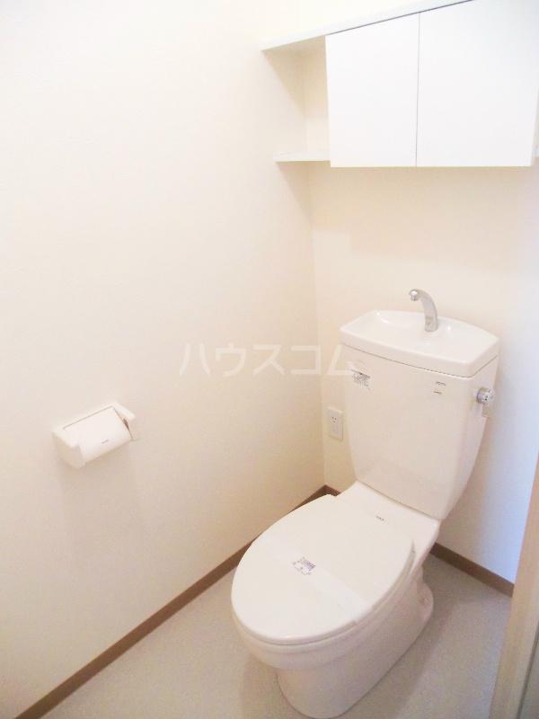 パディー江西 201号室のトイレ