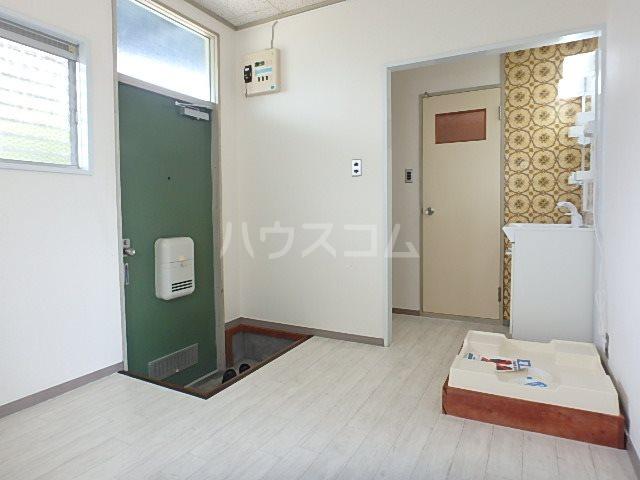 山本ハイツ 102号室の玄関