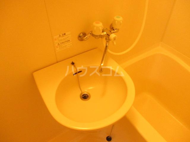 オプスマロニエ 201号室の洗面所