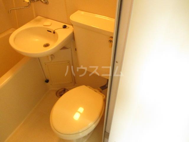 パークサイド・アイ 402号室のトイレ
