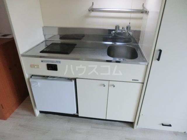 コーポリンデンⅡ 2G号室のキッチン