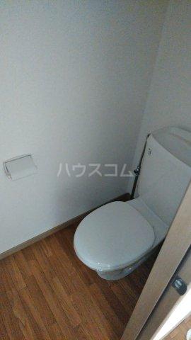 Riverside Satou 202号室のトイレ