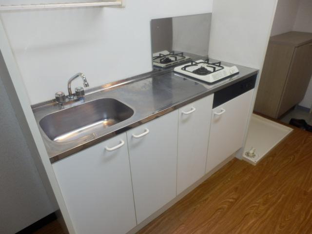 アメニティ鎌倉台 203号室のキッチン
