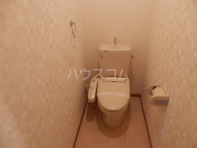 シュプールしのはら 102号室のトイレ