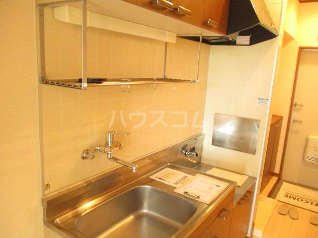 オプスマロニエ 202号室のキッチン