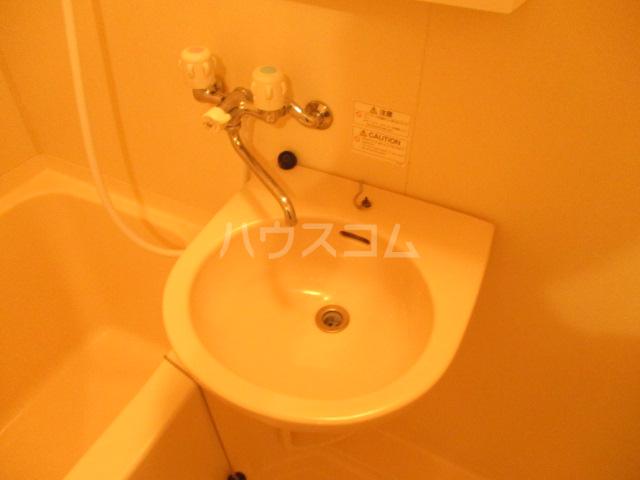 オプスマロニエ 202号室の洗面所