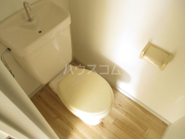 コーポプチ 201号室のトイレ