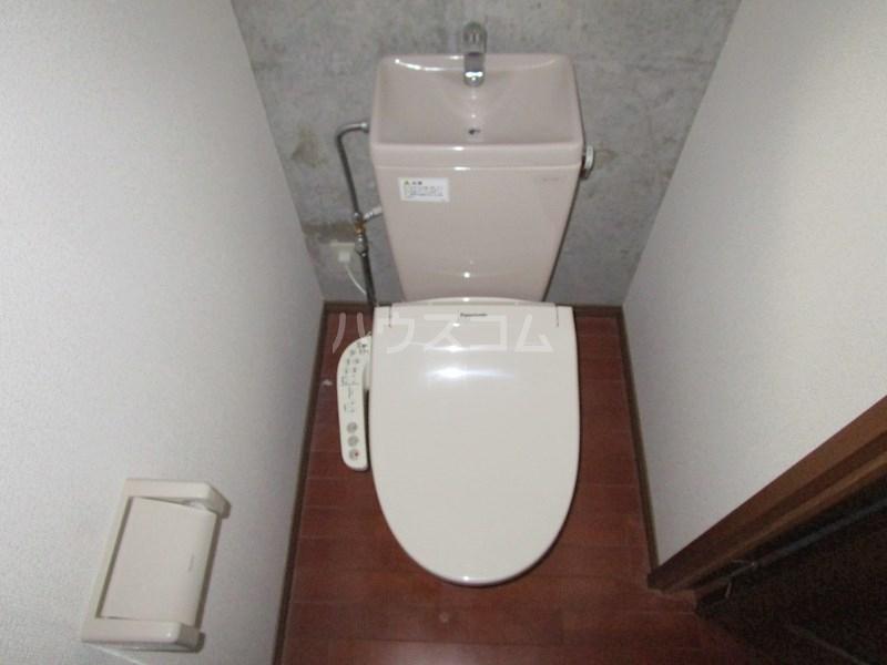 アルコ11 302号室のトイレ