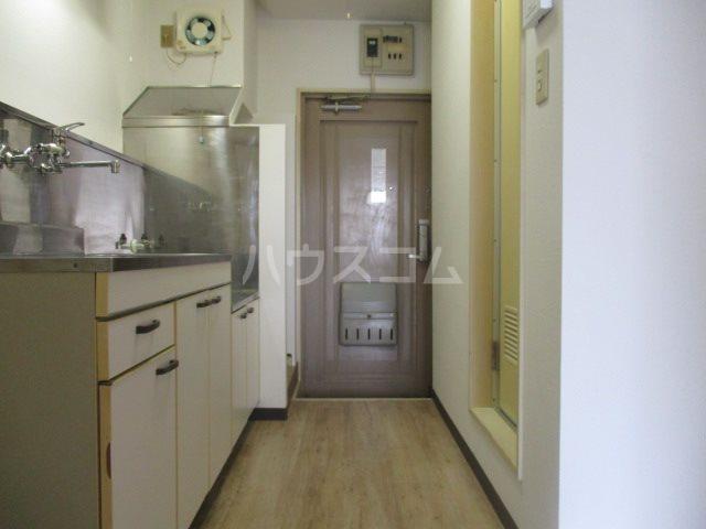サンバードⅠ 202号室の玄関