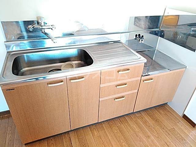 ボヌール上西Ⅱ 303号室のキッチン