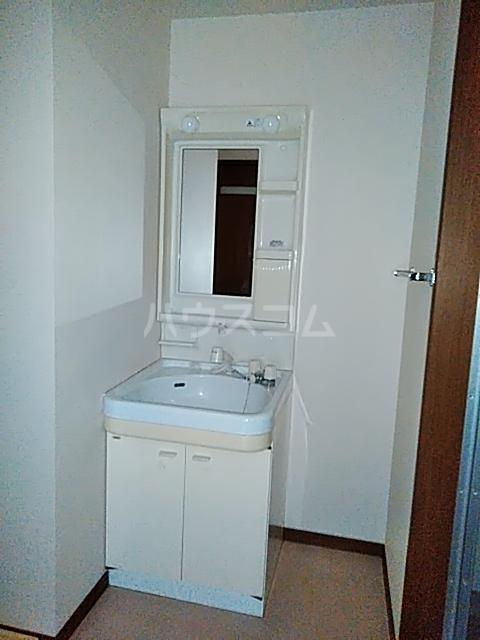 ボヌール上西Ⅱ 303号室の洗面所