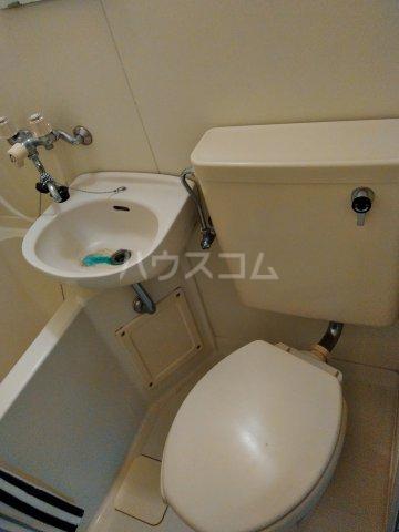 ジュネスコート Ⅱ 205号室のトイレ