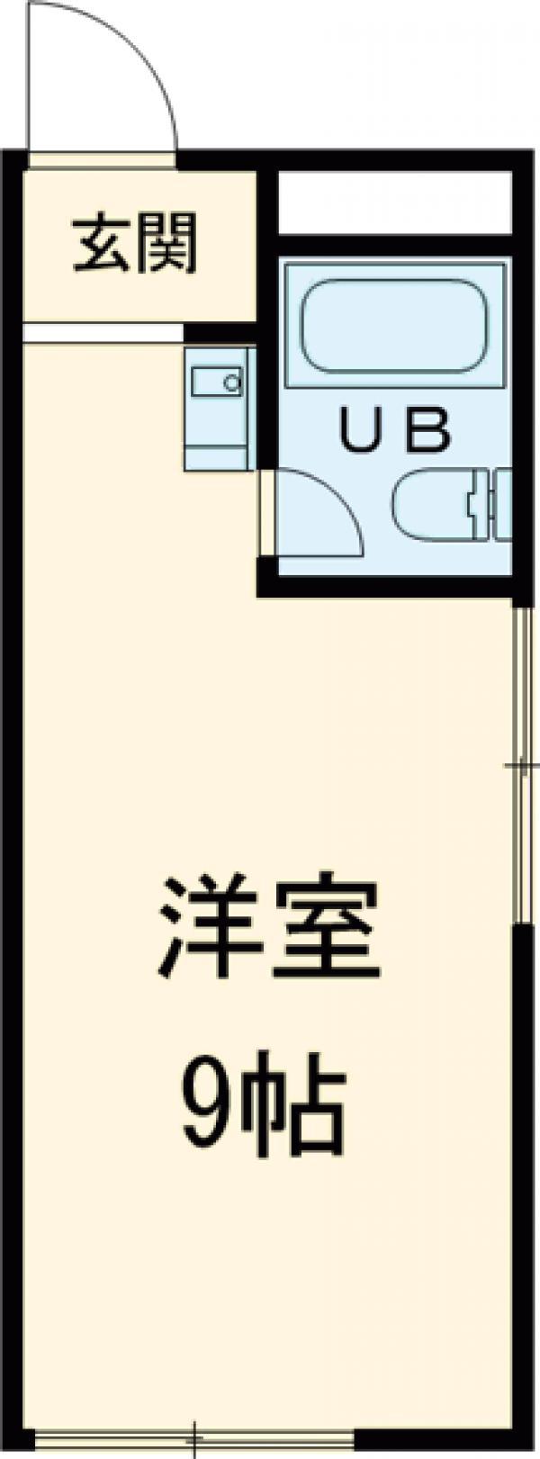 コーポ神田 303号室の間取り