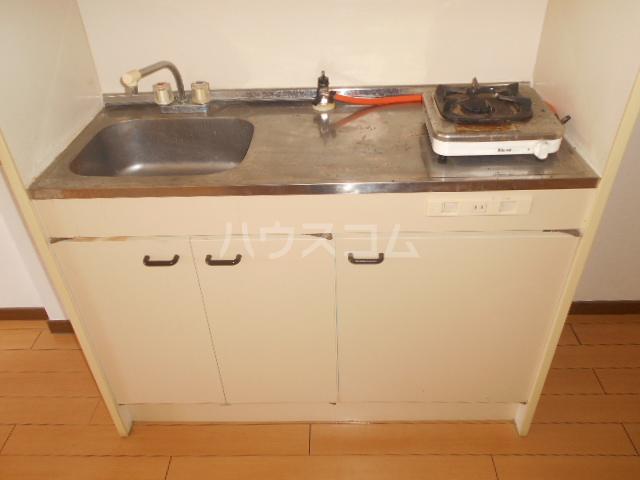 コーポラピット 102号室のキッチン