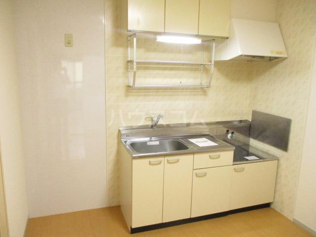 サンヴィラージュA・B A203号室のキッチン